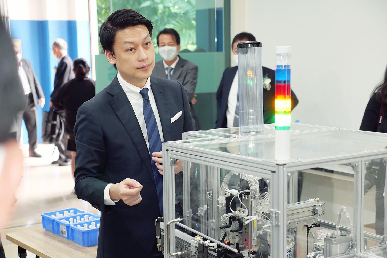 タイのロボット産業発展へ!日タイ共同の高度IT人材育成プロジェクト グランドオープニングセレモニーのメイン画像