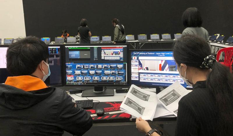 日タイ外務省共催「第5回日タイ・ハイレベル合同委員会(HLJC5)」のオンライン運営をサポート!のメイン画像